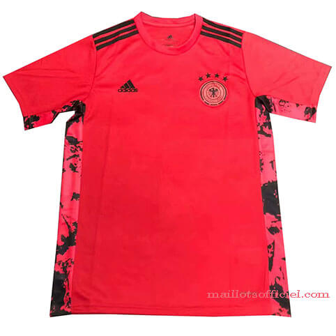Maillot Allemagne Entrainement 2020 Euro Rouge