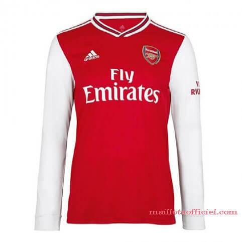 Maillot Arsenal Domicile 19/20 Manches Longue