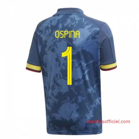 Maillot Colombie Extérieur Ospina 1 2020/21