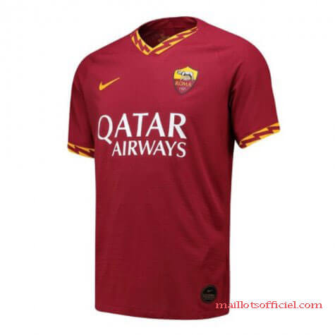 Maillot Domicile AS Roma 2019 2020 Pas Cher