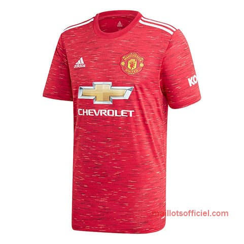 Maillot Manchester United Domicile 2020/2021