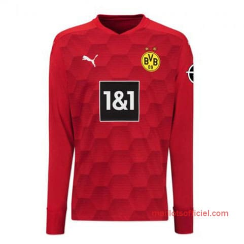Maillot Dortmund Gardien 20/21 Manches Longue Rouge