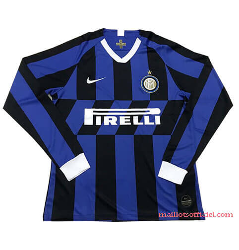 Maillot Inter Milan Domicile 2019/20 Manches Longue