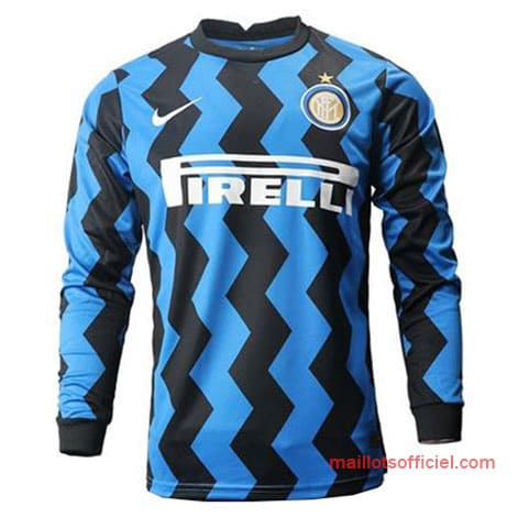 Maillot Inter Milan Domicile 20/21 Manches Longue