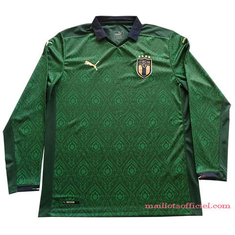 Maillot Italie Third 19/20 Manches Longue