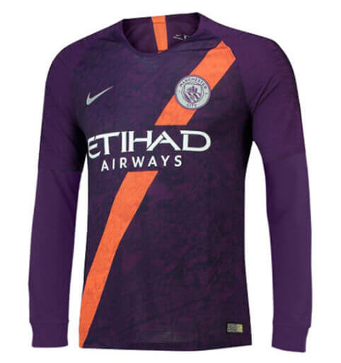 Maillot Manchester City Third 18/19 Manches Longue