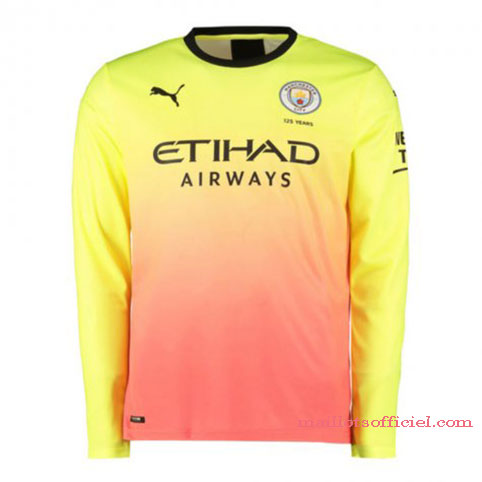 Maillot Manchester City Third 19/20 Manches Longue