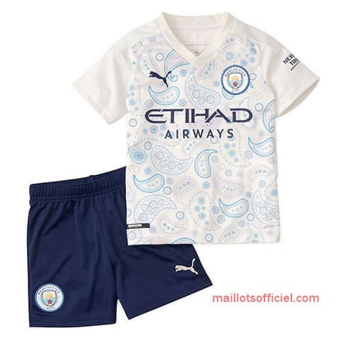 Maillot Manchester City Third 2020/21 Enfant