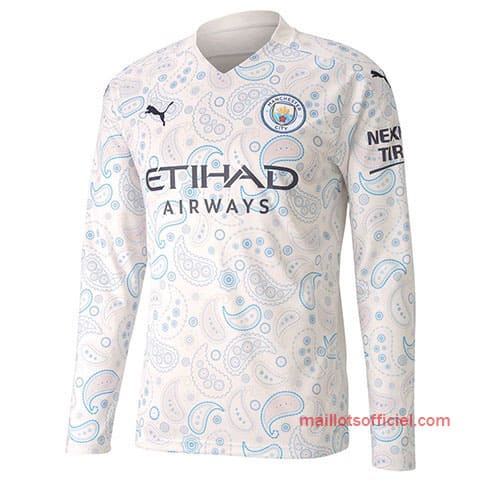 Maillot Manchester City Third 20/21 Manches Longue