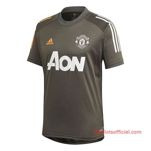 Maillot Manchester United Entrainement 2020/21 Vert