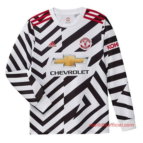 Maillot Manchester United Third 20/21 Manches Longue