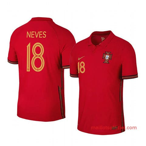 Maillot Portugal Neves Domicile 2020/21