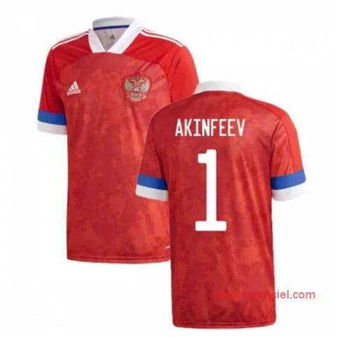 Maillot Russie Domicile Akinfeev 2020/21