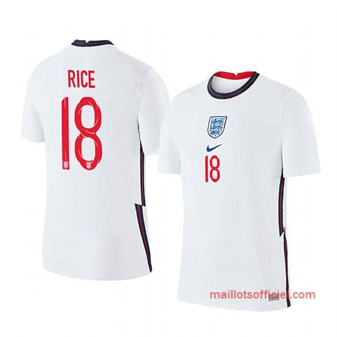 Maillot Angleterre Domicile Rice 2020/21