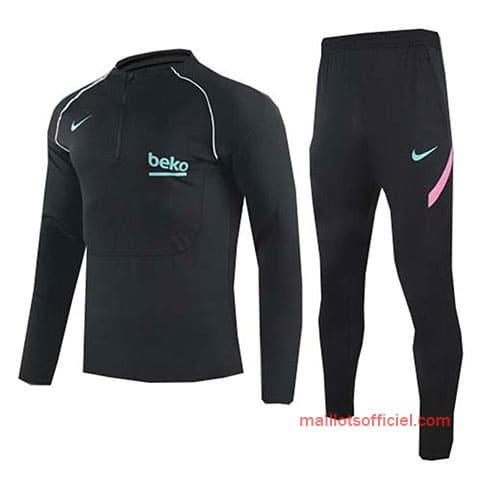 Training Top + Pantalon Barcelone 2020/2021 Noir
