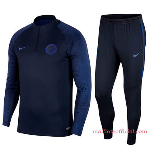 Training Top + Pantalon Chelsea 2019/2020 Bleu