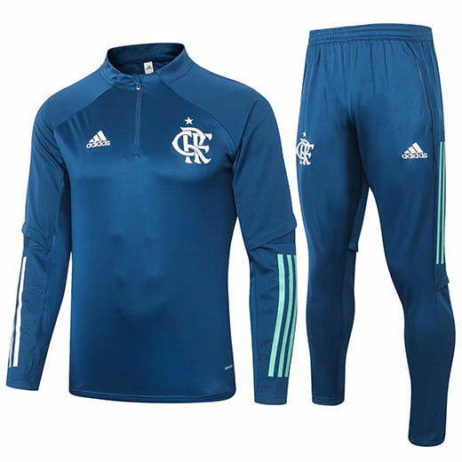 Training Top + Pantalon Flamengo 2020/2021 Bleu