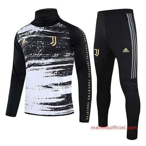 Training Top + Pantalon Juventus 2020/2021 Noir Blanc
