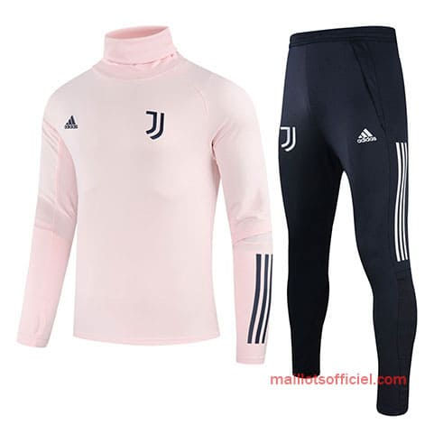 Training Top + Pantalon Juventus 2020/2021 Rose Bleu