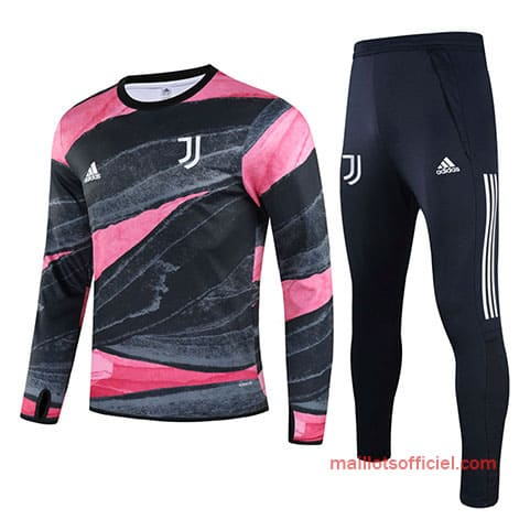 Training Top + Pantalon Juventus 2020/2021 Rouge Bleu