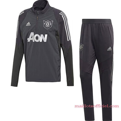 Training Top + Pantalon Manchester United 19/20 Noir