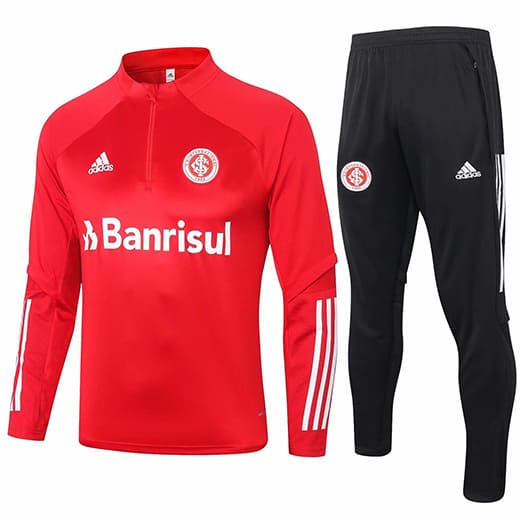 Training Top + Pantalon SC International 2020/2021 Rouge Noir