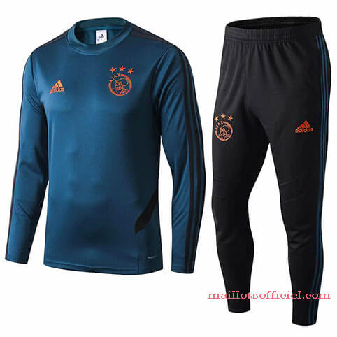Training Top Pantalon Ajax 2019/2020 Bleu