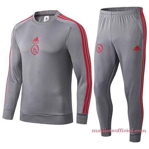 Training Top Pantalon Ajax 2019/2020 Gris