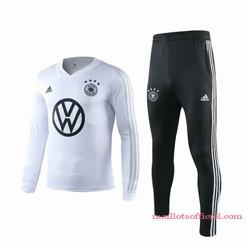 Training Top Pantalon Allemagne 2019/2020 Blanc