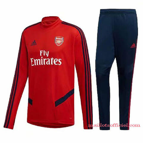 Training Top Pantalon Arsenal Rouge Bleu 2019/2020