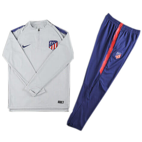 Training Top+Pantalon Atlético Madrid Blanc Bleu 2018 2019