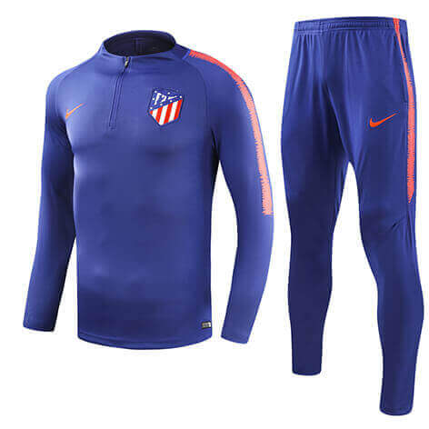 Training Top+Pantalon Atlético Madrid Bleu 2018 2019