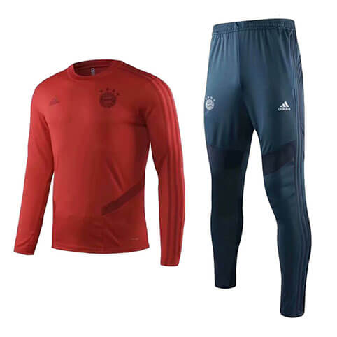 Training Top+Pantalon Bayern Munich 19/20 Rouge