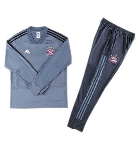 Training Top+Pantalon Bayern Munich Bleu 2018 2019