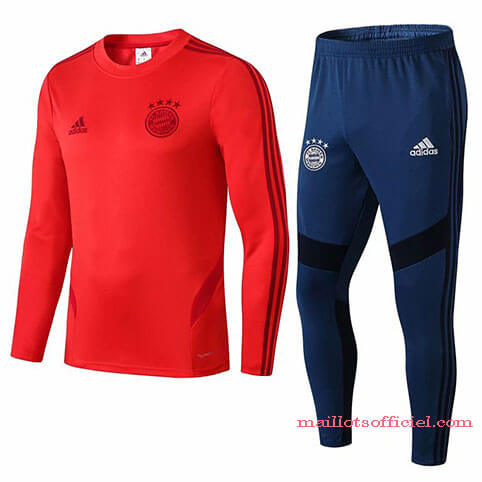 Training Top Pantalon Bayern Munich 2019/20 Rouge Bleu