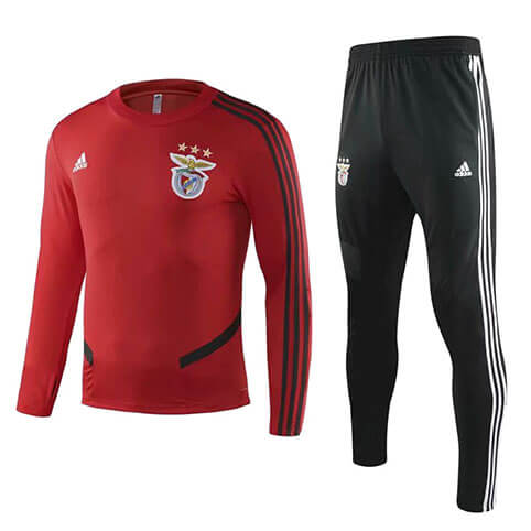 Training Top+Pantalon Benfica 19/20 Rouge Noir