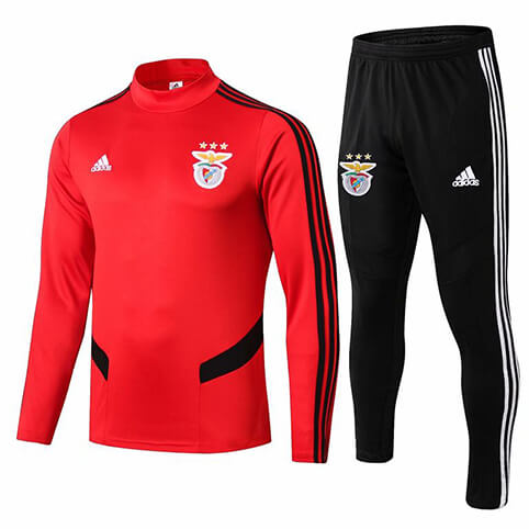 Training Top+Pantalon Benfica 2019/2020 Rouge Noir