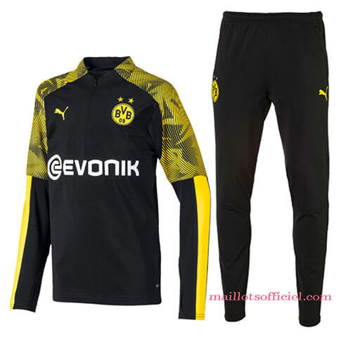 Training Top Pantalon Dortmund 2019/2020 Noir