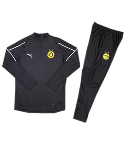 Training Top+Pantalon Dortmund Noir 2018 2019