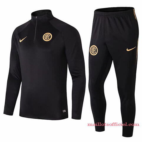 Training Top Pantalon Inter Milan 2019/2020 Noir