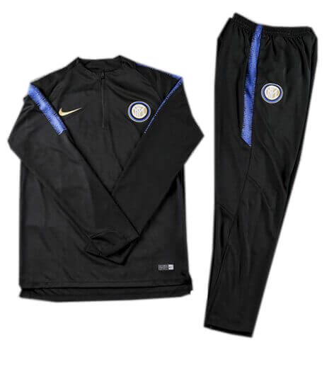 Training Top+Pantalon Inter Milan Noir 2018 2019