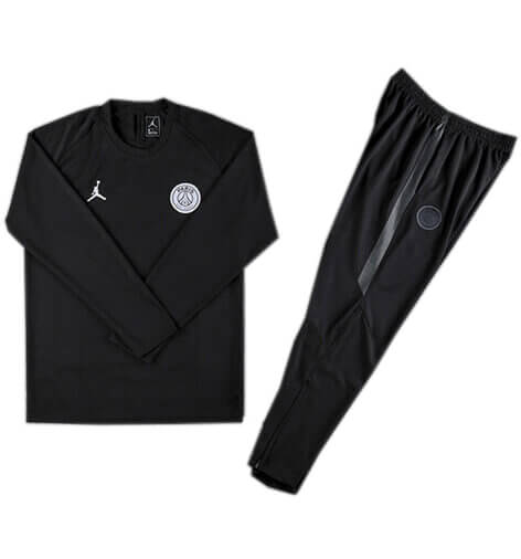Training Top+Pantalon Jordan x Paris Saint Germain Noir 18 19