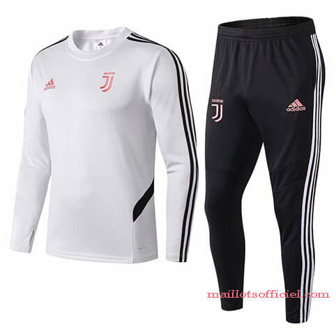 Training Top Pantalon Juventus 2019/20 Blanc Noir