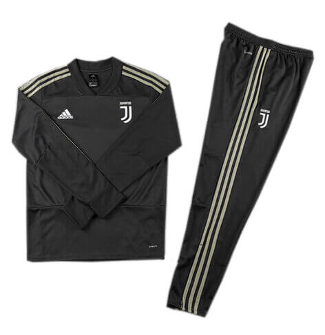 Training Top+Pantalon Juventus Noir 2018 2019