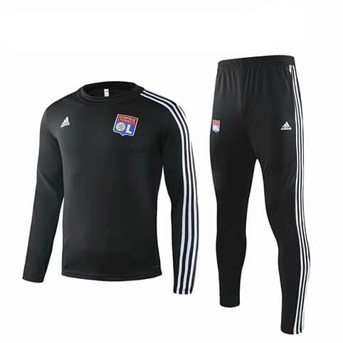 Training Top+Pantalon Lyon 19/20 Noir