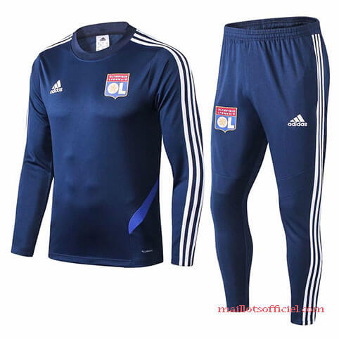 Training Top Pantalon Lyon 2019/2020 Bleu