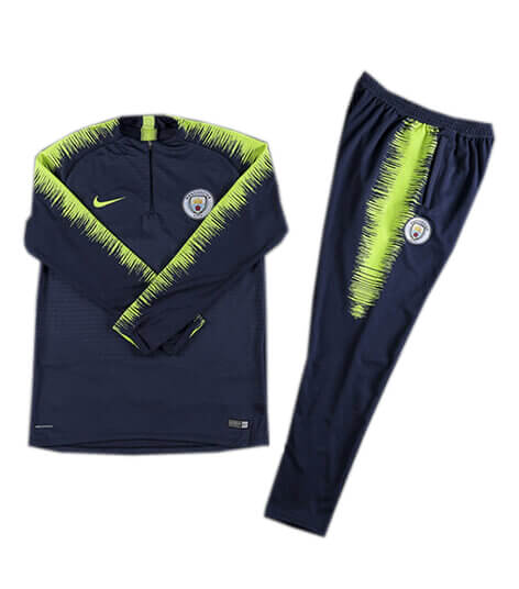 Training Top+Pantalon Manchester City Bleu 2018 2019