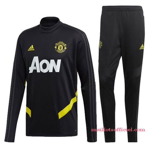 Training Top Pantalon Manchester United 2019/2020 Noir