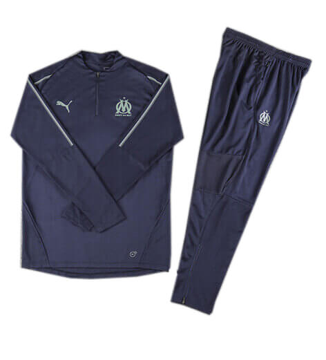 Training Top+Pantalon Marseille Bleu 2018 2019
