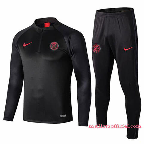 Training Top Pantalon PSG 2019/2020 Noir
